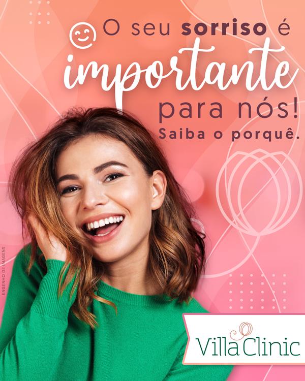 O seu sorriso é importante para nós!