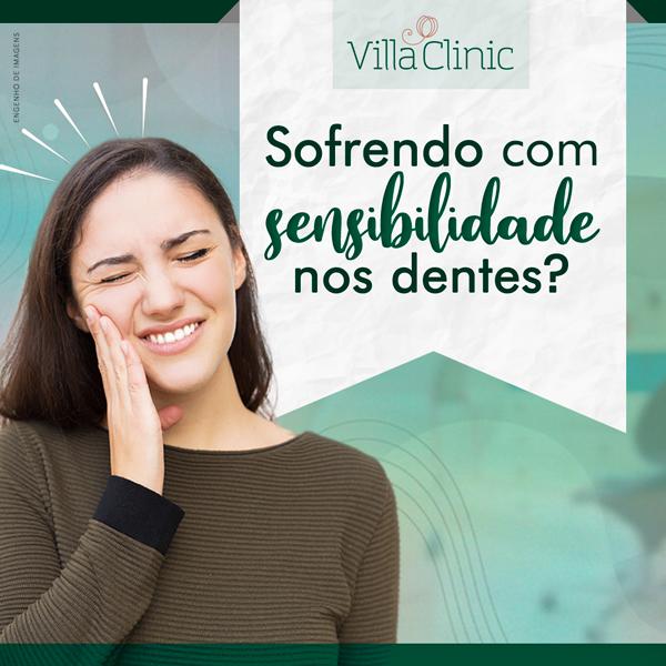Sofrendo com sensibilidade nos dentes?